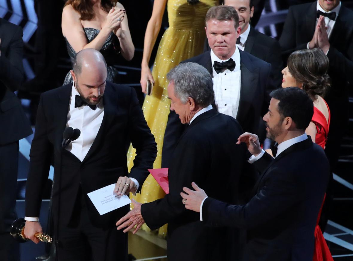 Oscarový zmatek