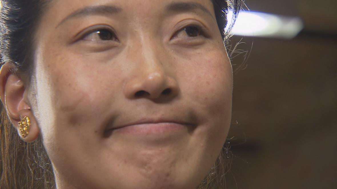 Tibetská aktivistka Vyima Lhamo žije už několik měsíců v zahraničí