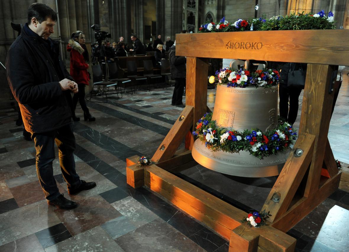 Zvon Václav v katedrále sv. Víta