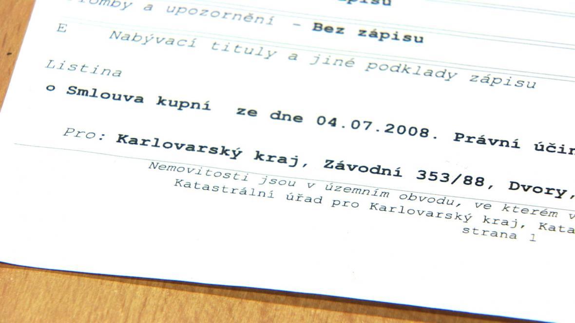 Kupní smlouva byla uzavřena 4. července 2008