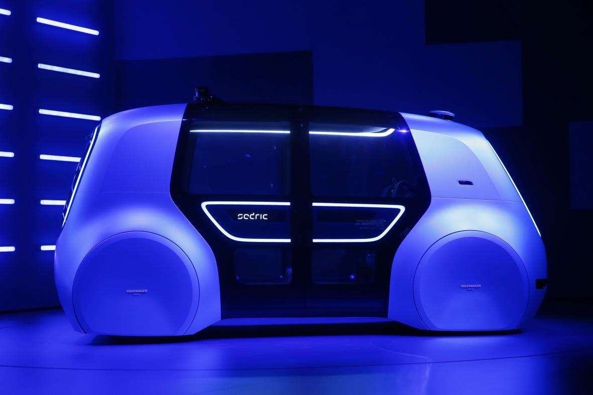 Volkswagen: Koncept plně autonomně řízeného vozu Sedric