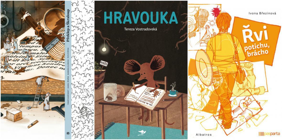 Nominace Magnesia Litera za rok 2016: literatura pro děti a mládež