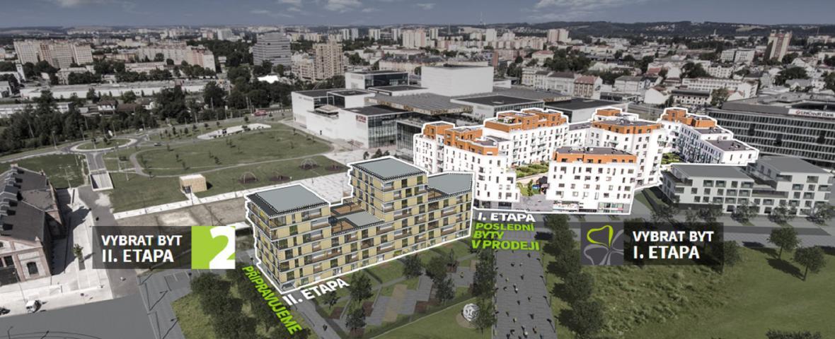 Architektonická vize II. etapy