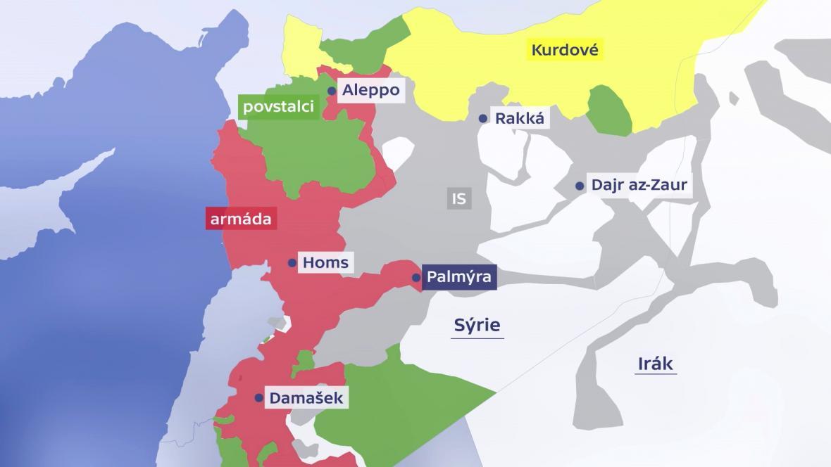 Stav na syrském bojišti
