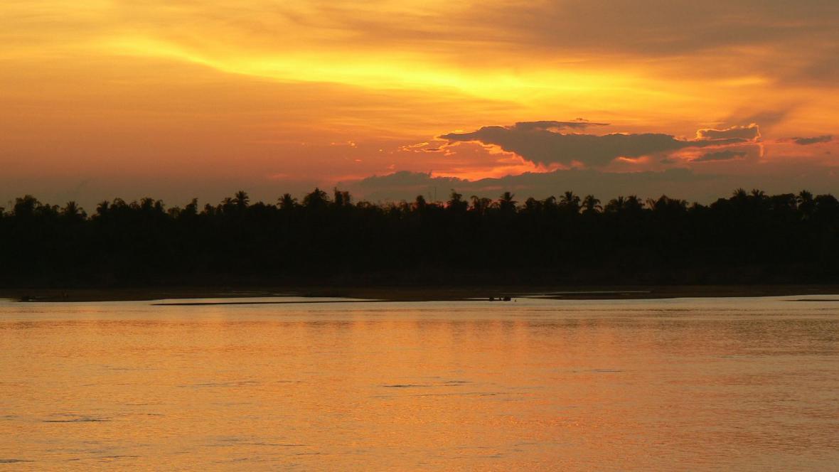 Jezero Boeung Kak před stavebními úpravami