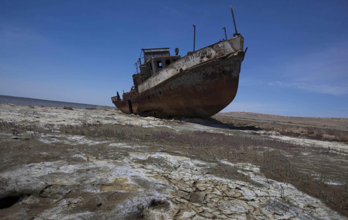 Aralské jezero v současnosti