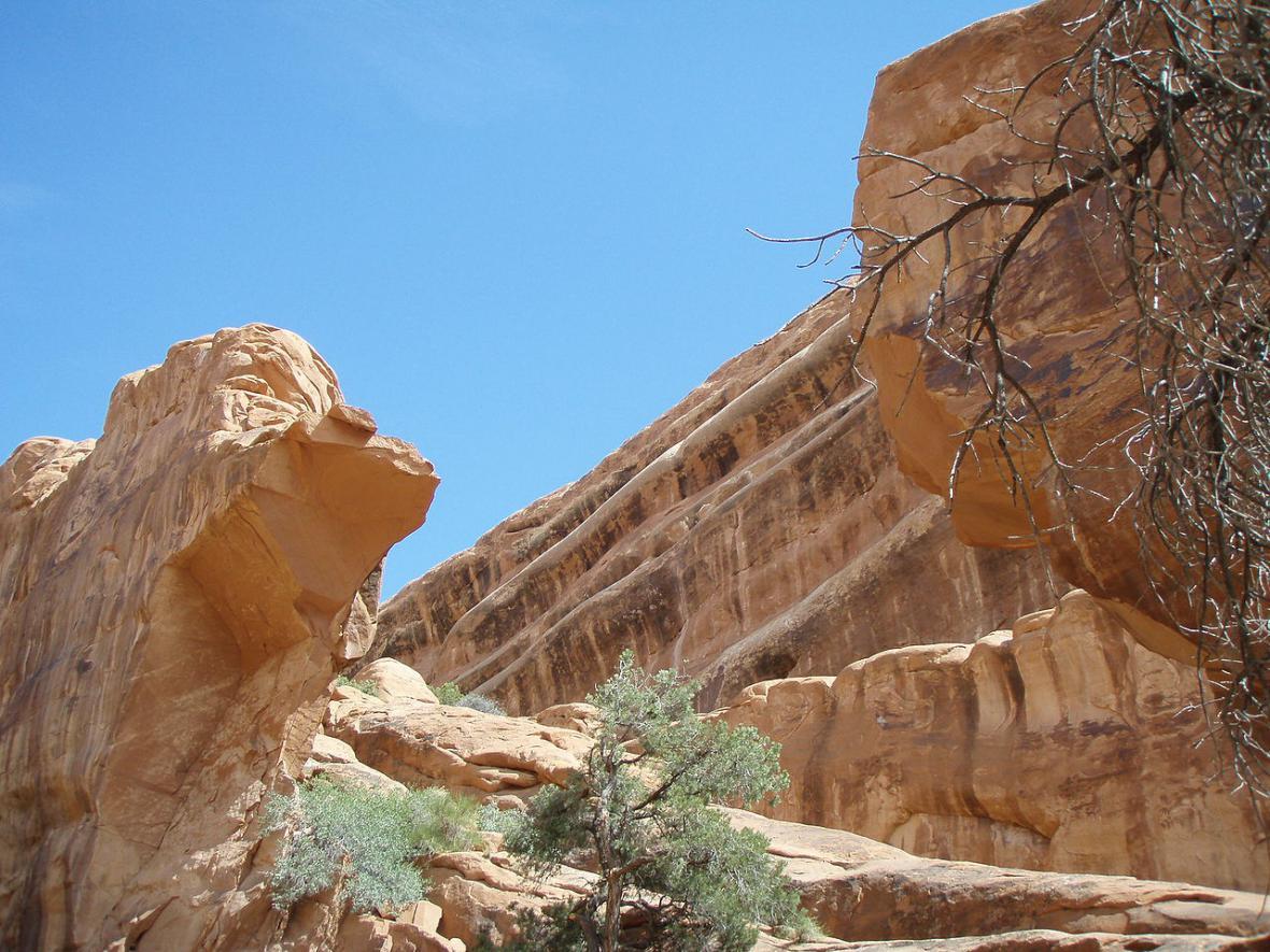 Wall Arch po kolapsu