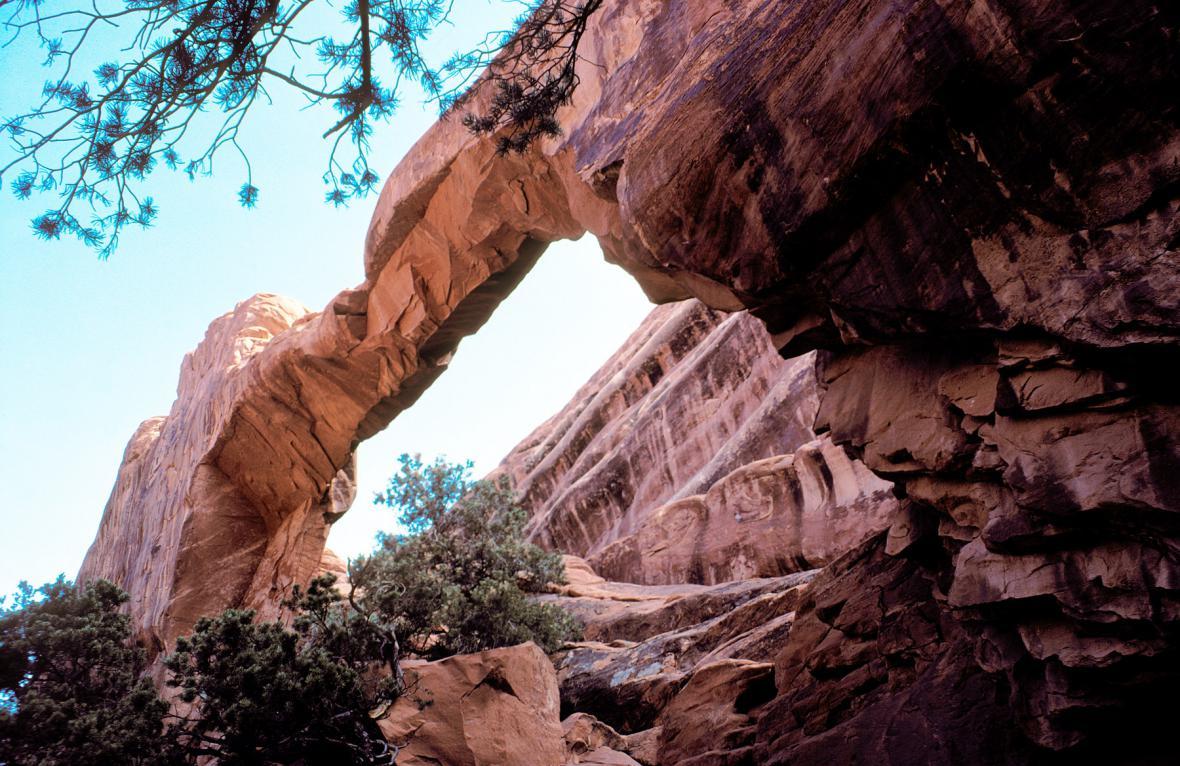 Wall Arch před kolapsem