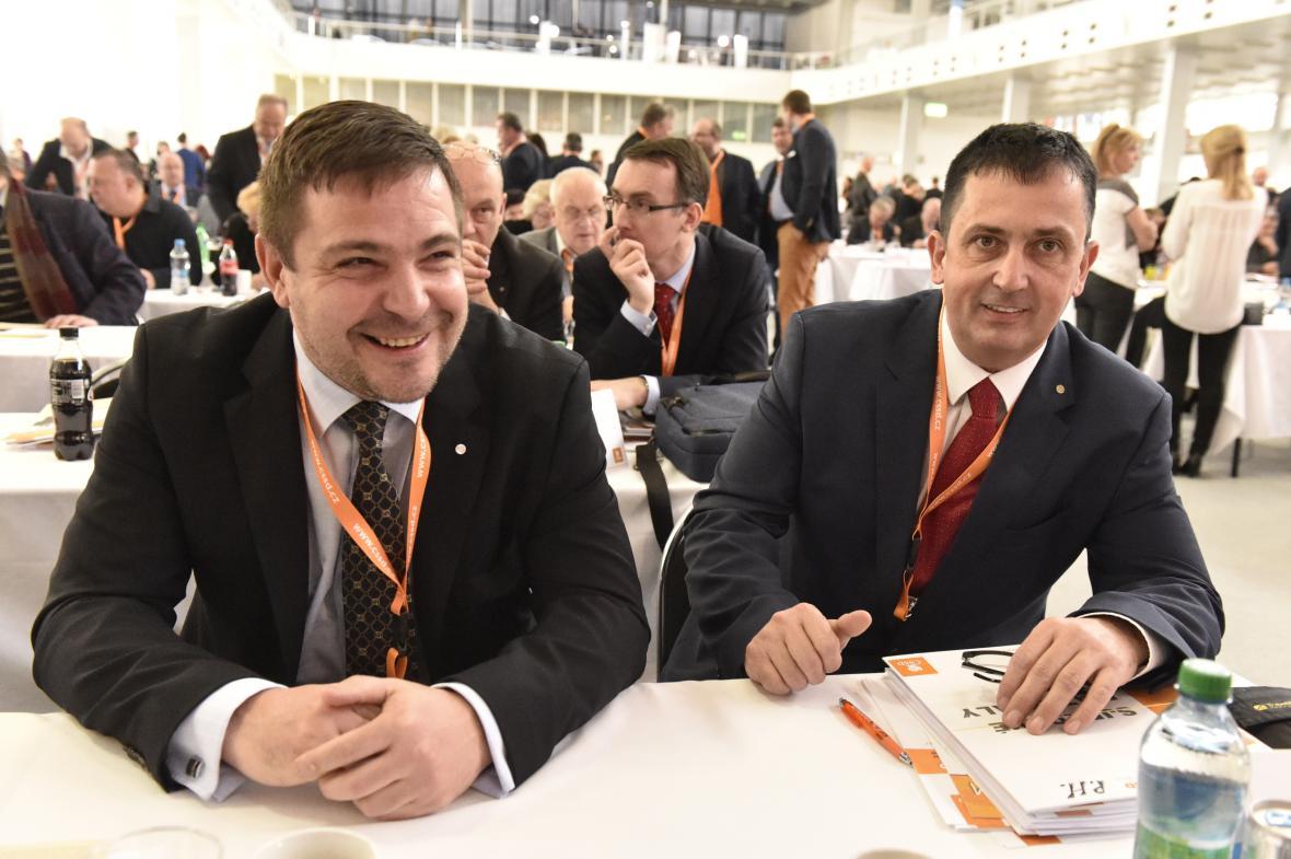 Karel Březina a Petr Hulinský