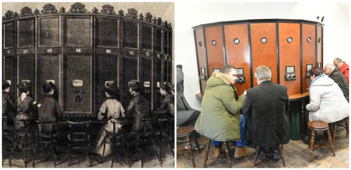 Historický stereoskop v Třebíči
