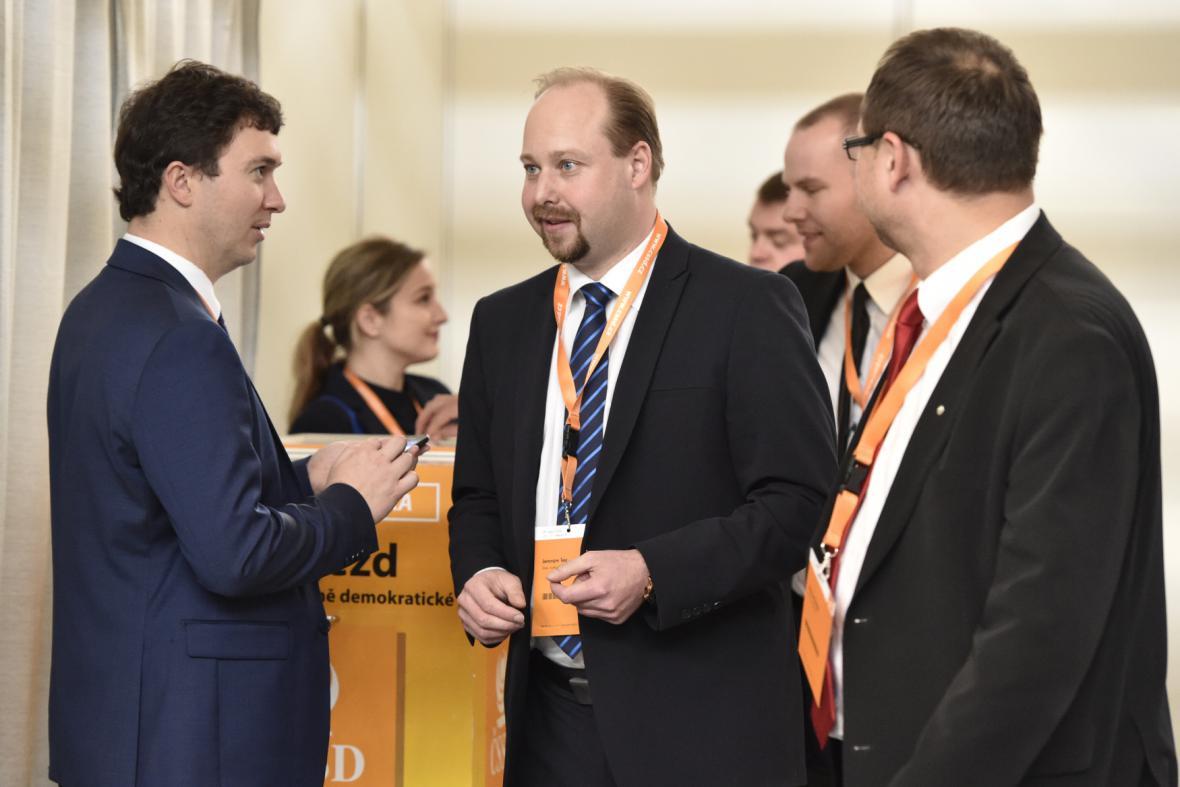 Jeroným Tejc při volbě statutárního místopředsedy