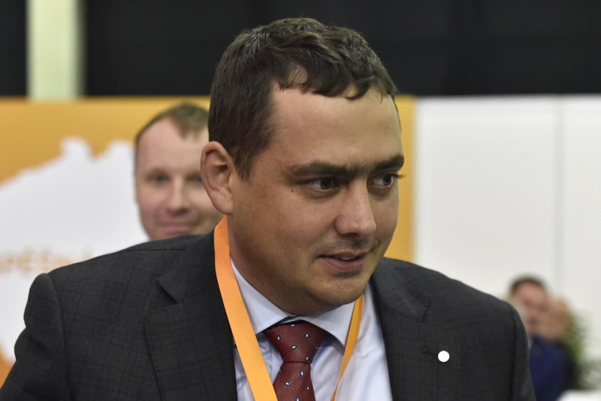 Místopředseda ČSSD Petr Dolínek