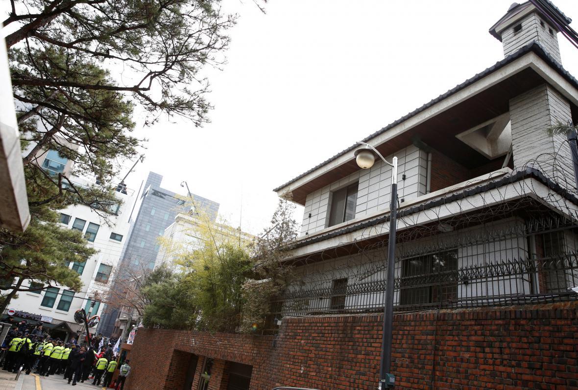 Soukromá rezidence exprezidentky Pak Kun-hje