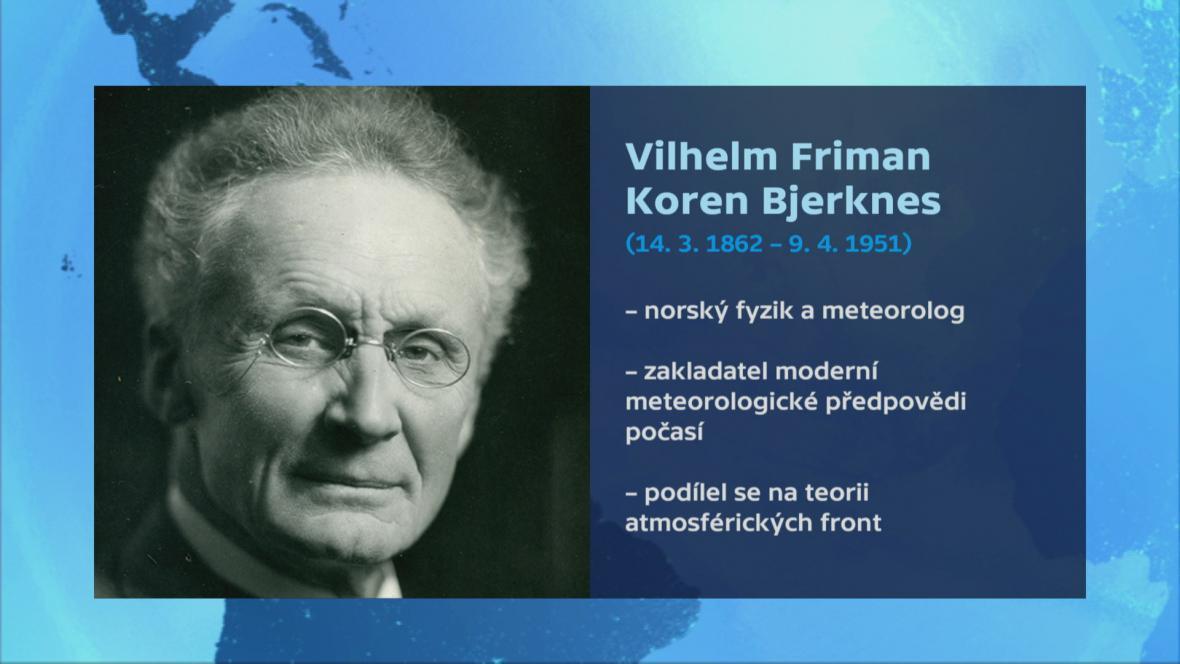 Vizitka Vilhelma Bjerknese