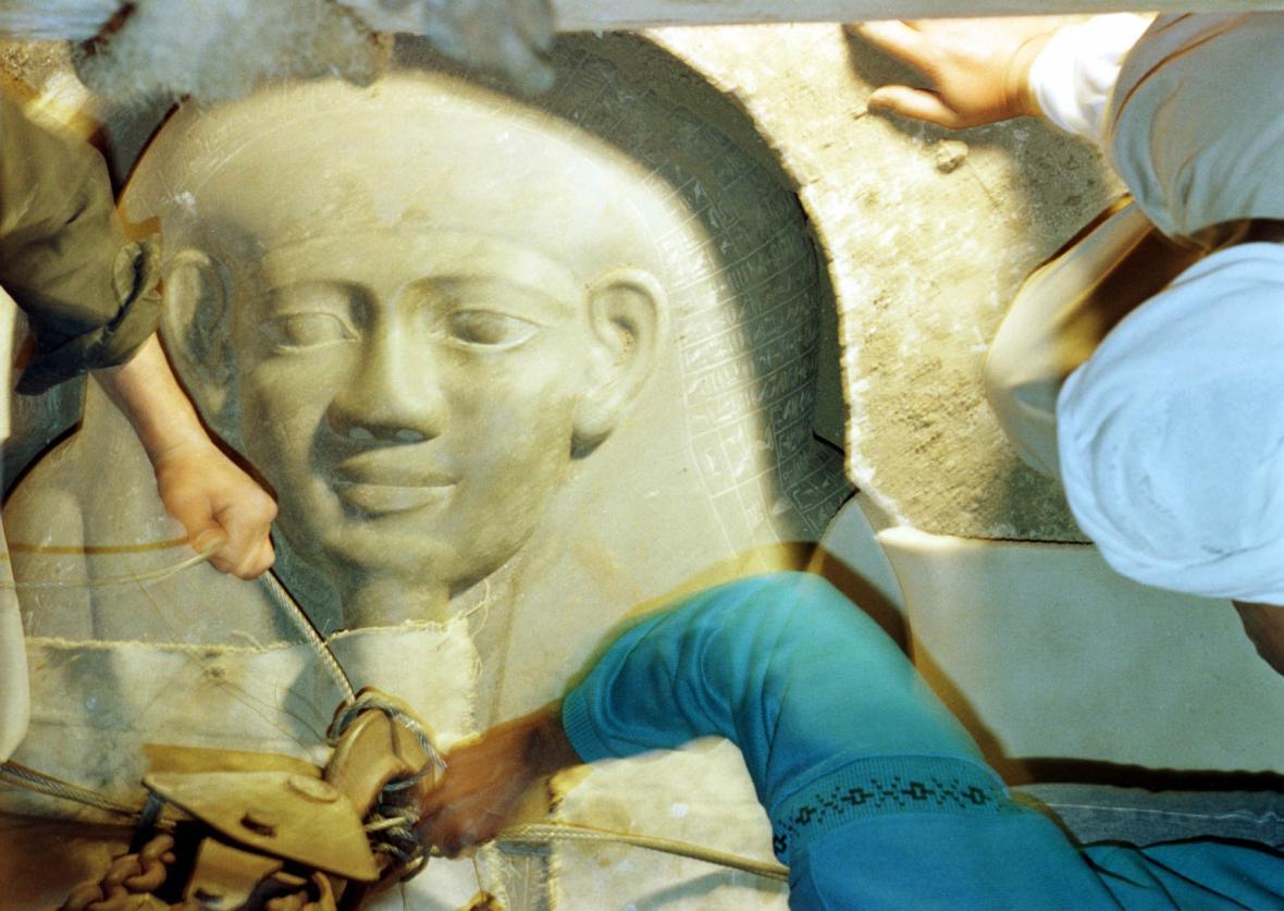 Sarkofág kněze Iúfú