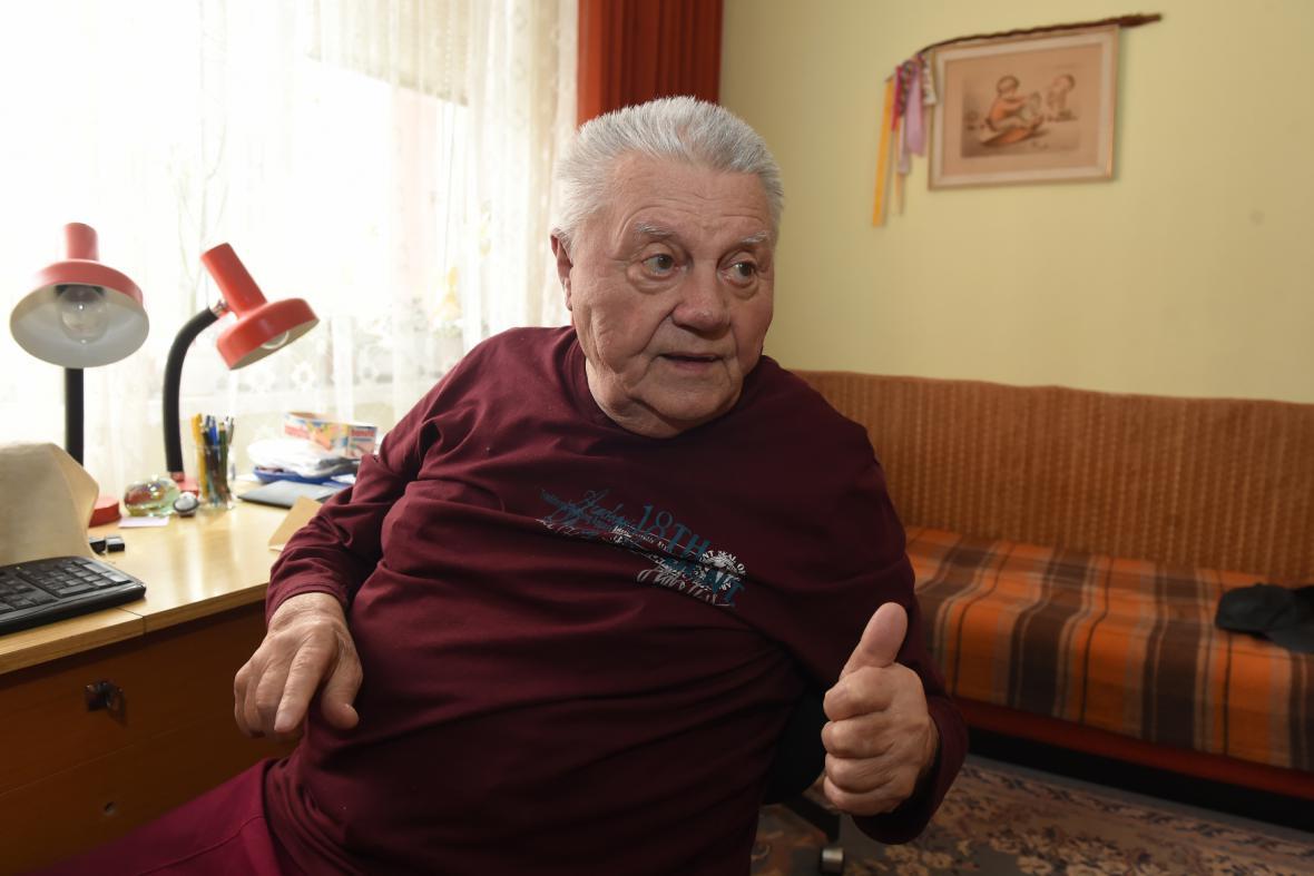 Bývalý důlní záchranář Jaroslav Minka