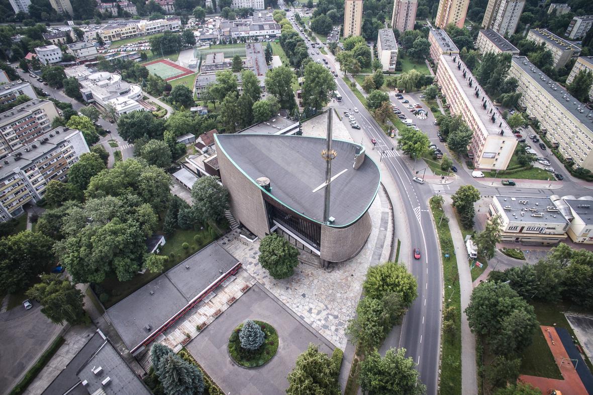 Kostel Matky Boží Královny Polska, Krakov