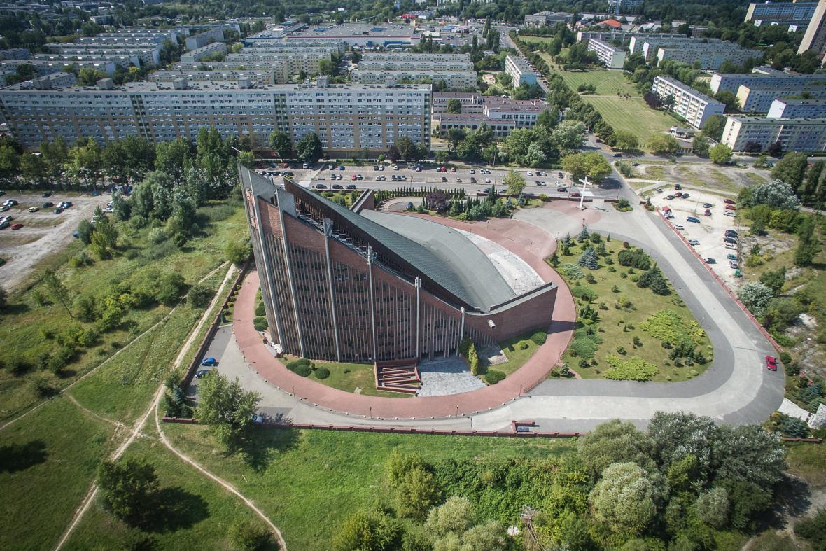 Kostel Navštívení Nejsvětější Panny Marie, Poznaň