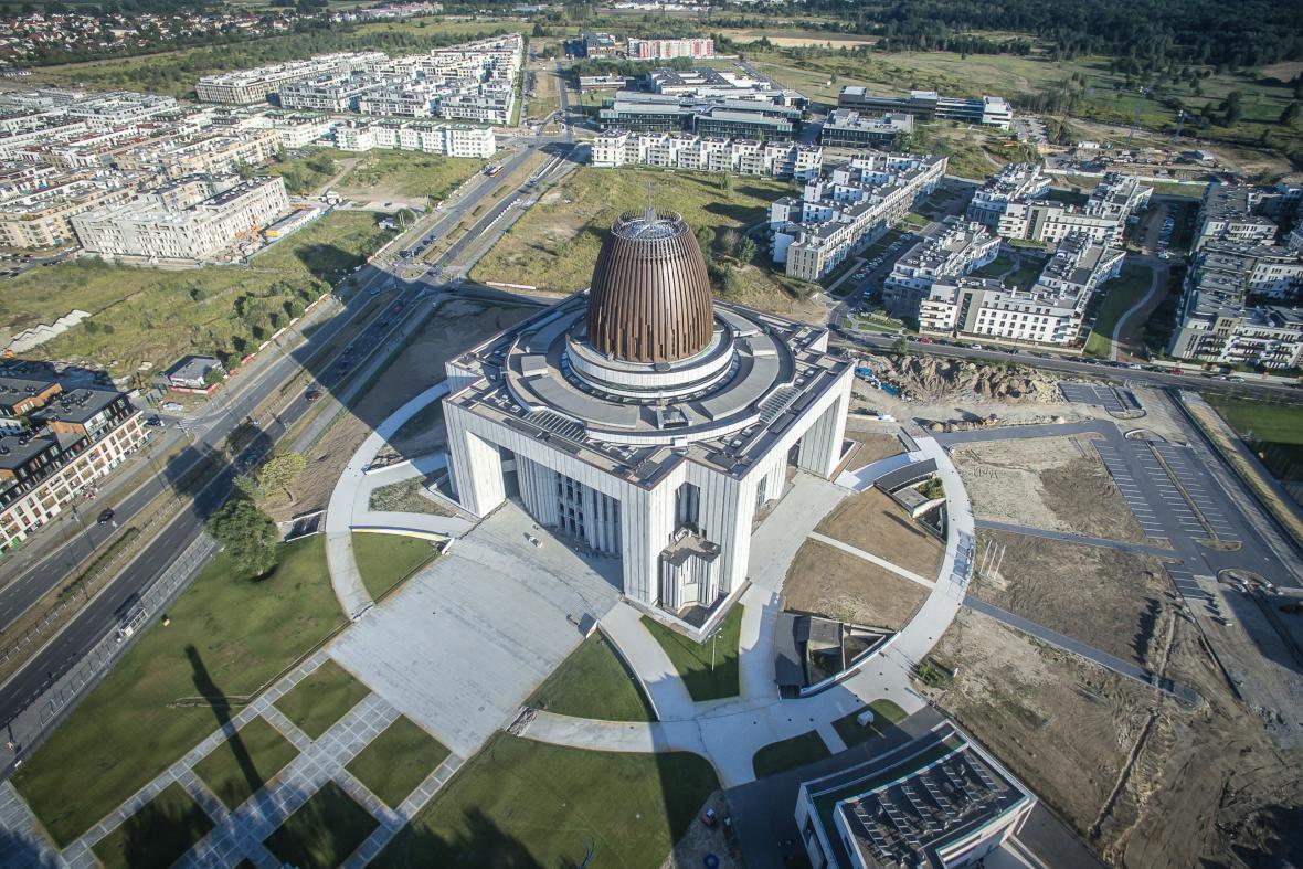 Kostel Svatyně Boží prozřetelnosti, Varšava
