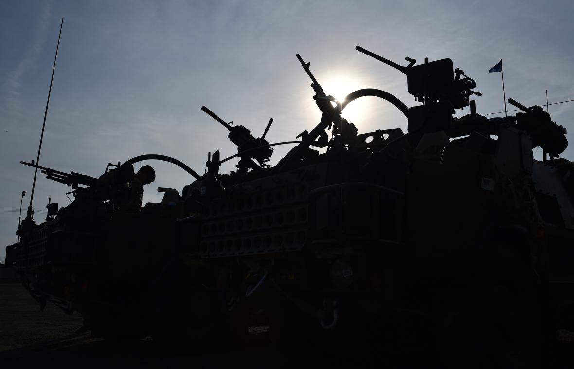 Americký konvoj míří přes Česko do Polska