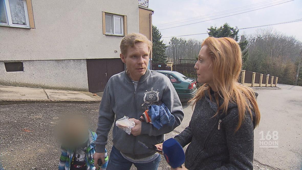 Petr Vaněk, syn majitelů kožešinové farmy