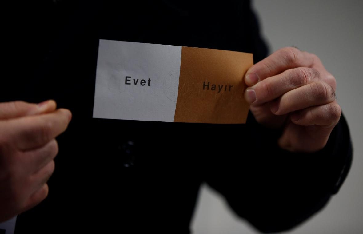Turecké referendum