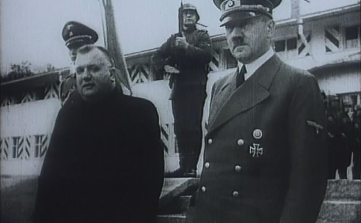 Josef Tiso s Adolfem Hitlerem
