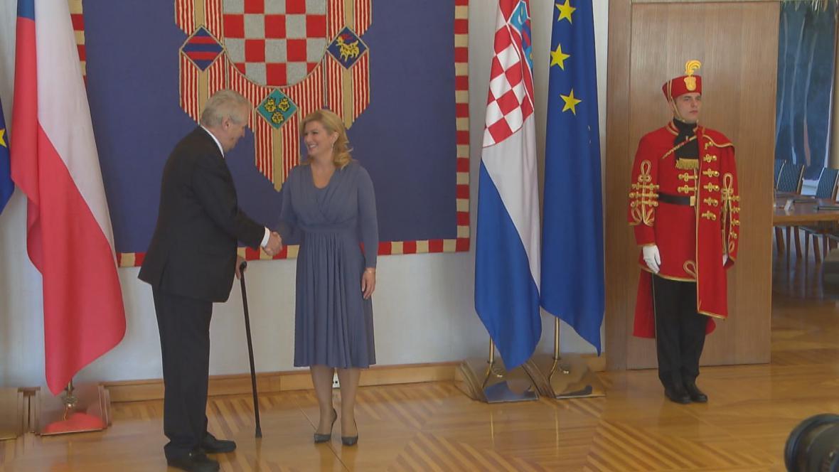 Miloš Zeman s Kolindou Kitarovičovou