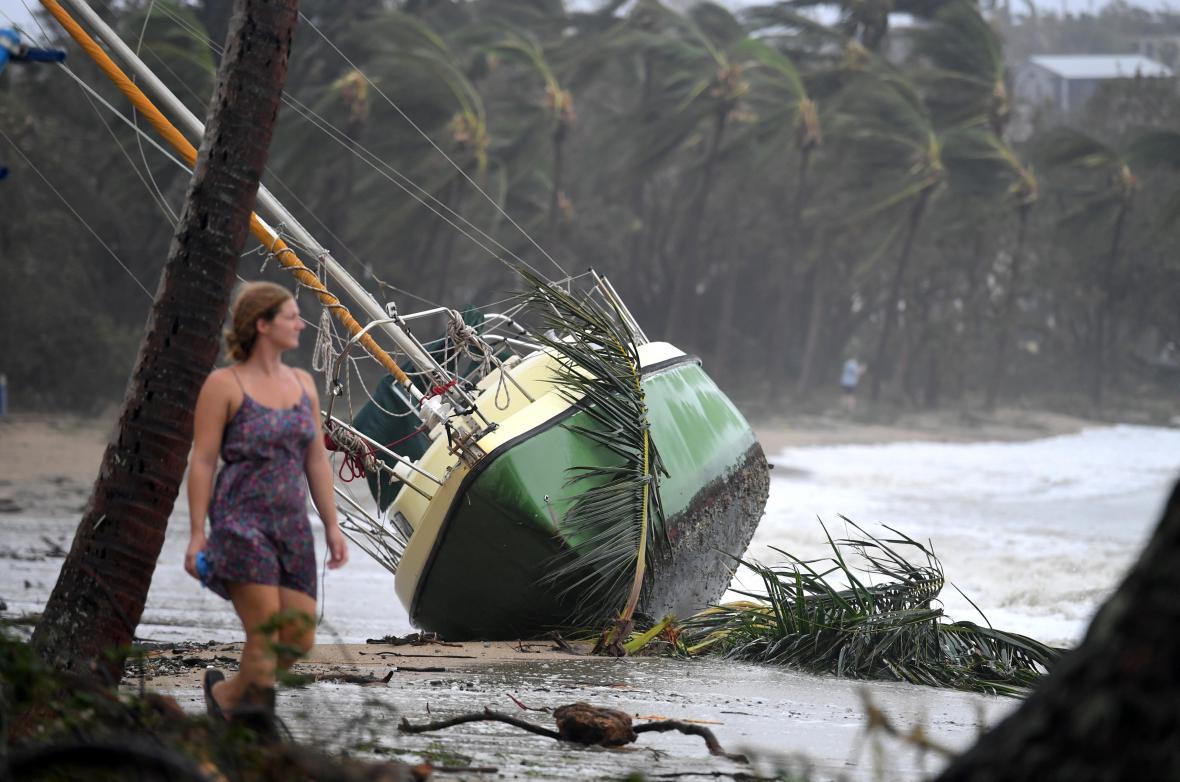 Následky cyklonu Debbie