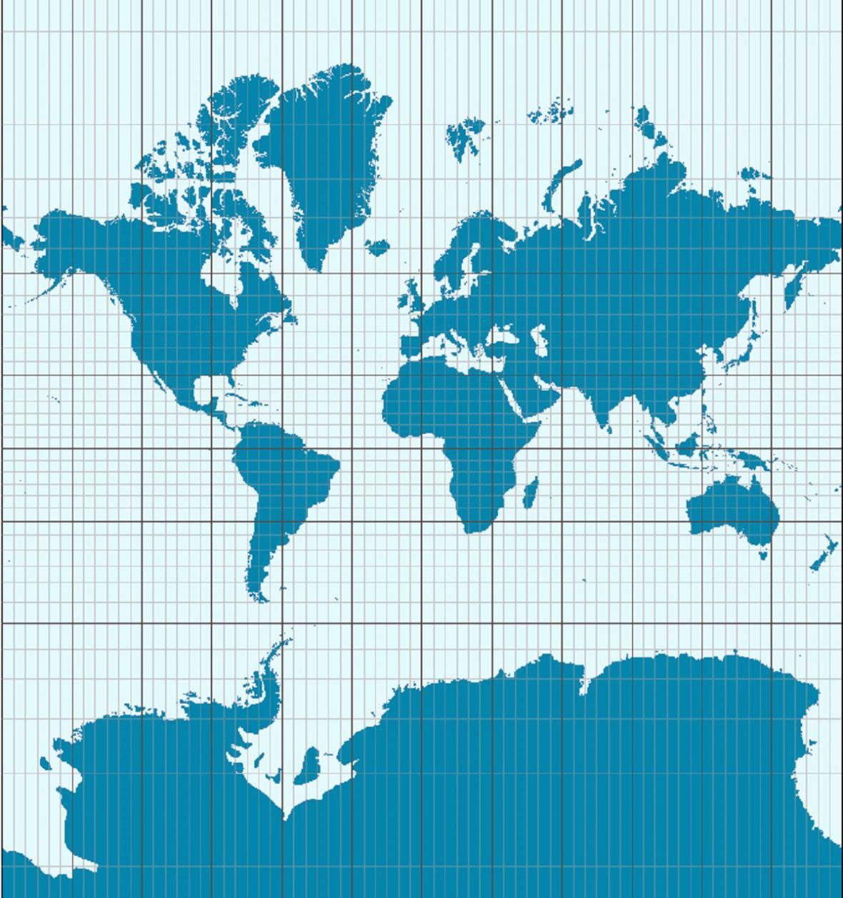 Mercatorova projekce