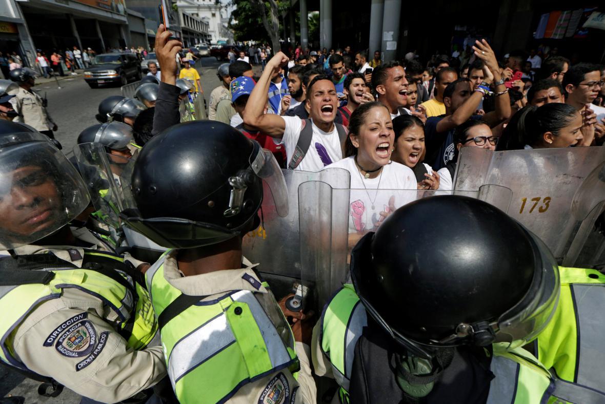 Protest ve Venezuele