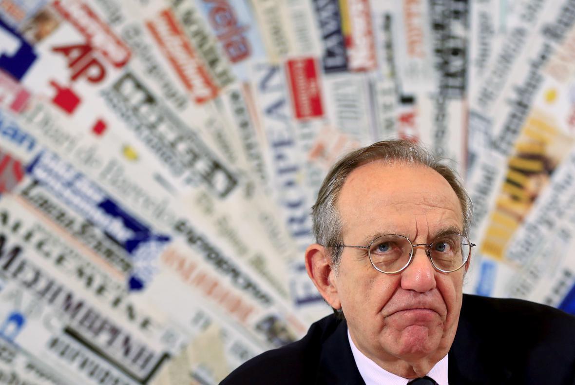 Italský ministr ekonomiky Pier Carlo Padovan