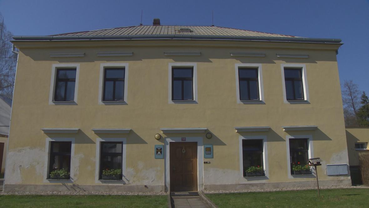 Dům, kde se skrýval odbojář Potůček