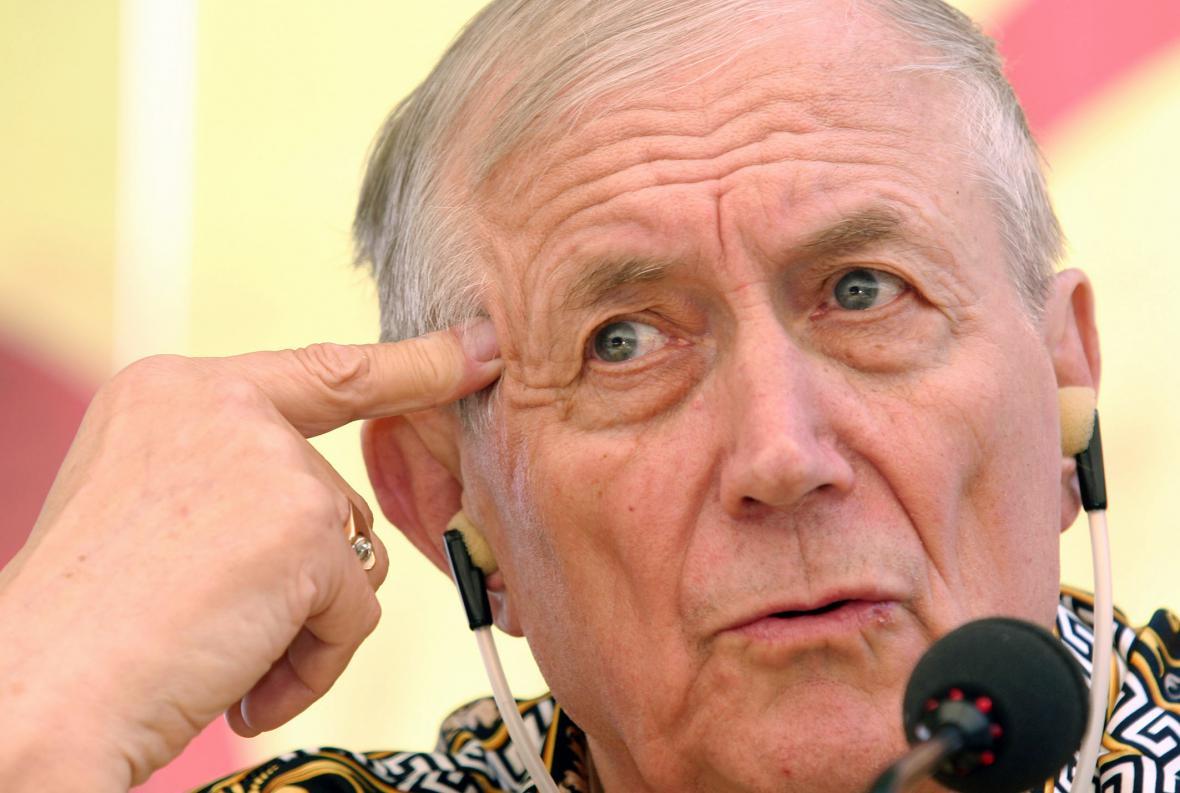 Jevgenij Jevtušenko v roce 2005