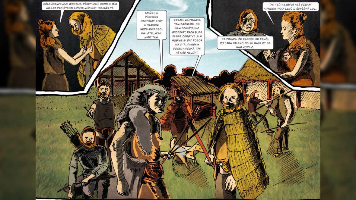 Den v životě neolitické ženy