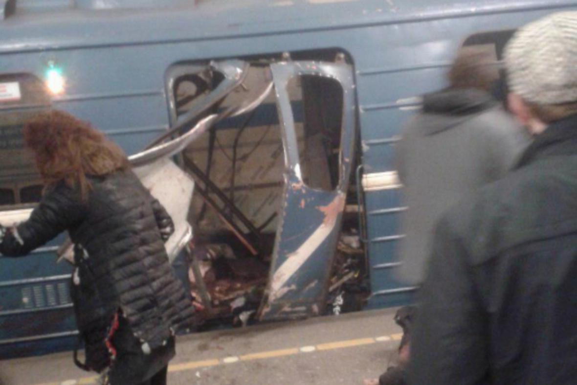 Útok v petrohradském metru