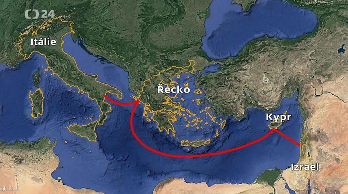 Kudy povede nejdelší podmořský plynovod světa