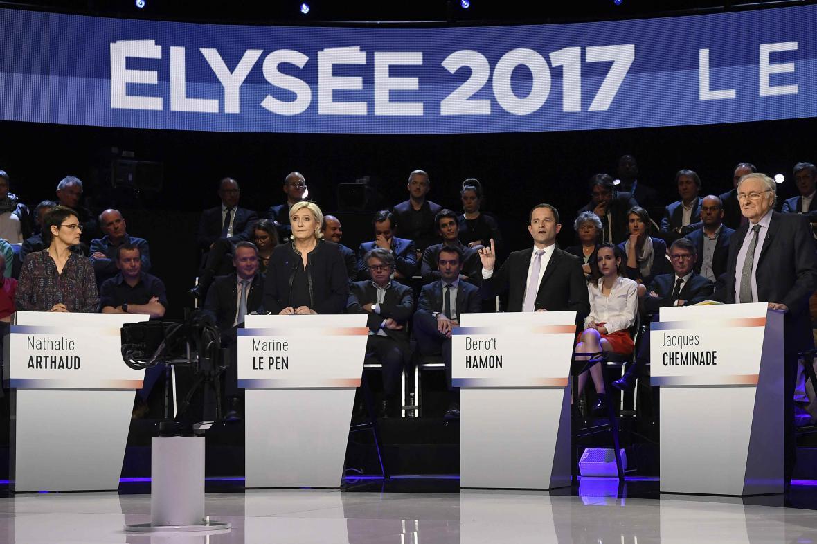 Francouzská prezidentská debata