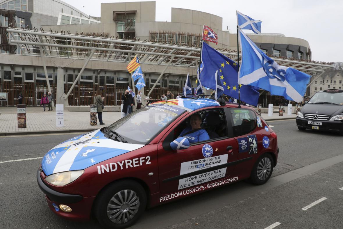 Zastánci nového skotského referenda
