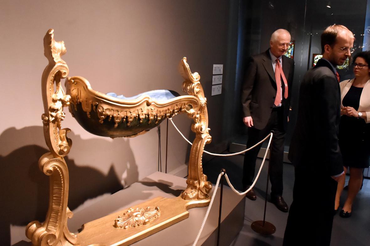 Z výstavy Jan II. z Lichtenštejna (Slezské zemské muzeum)