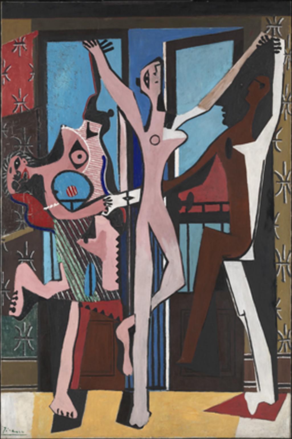 Pablo Picasso / Tři tanečníci, 1925