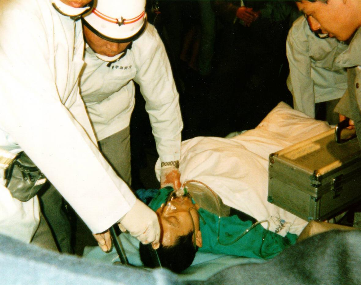 Útok sarinem v tokijském metru