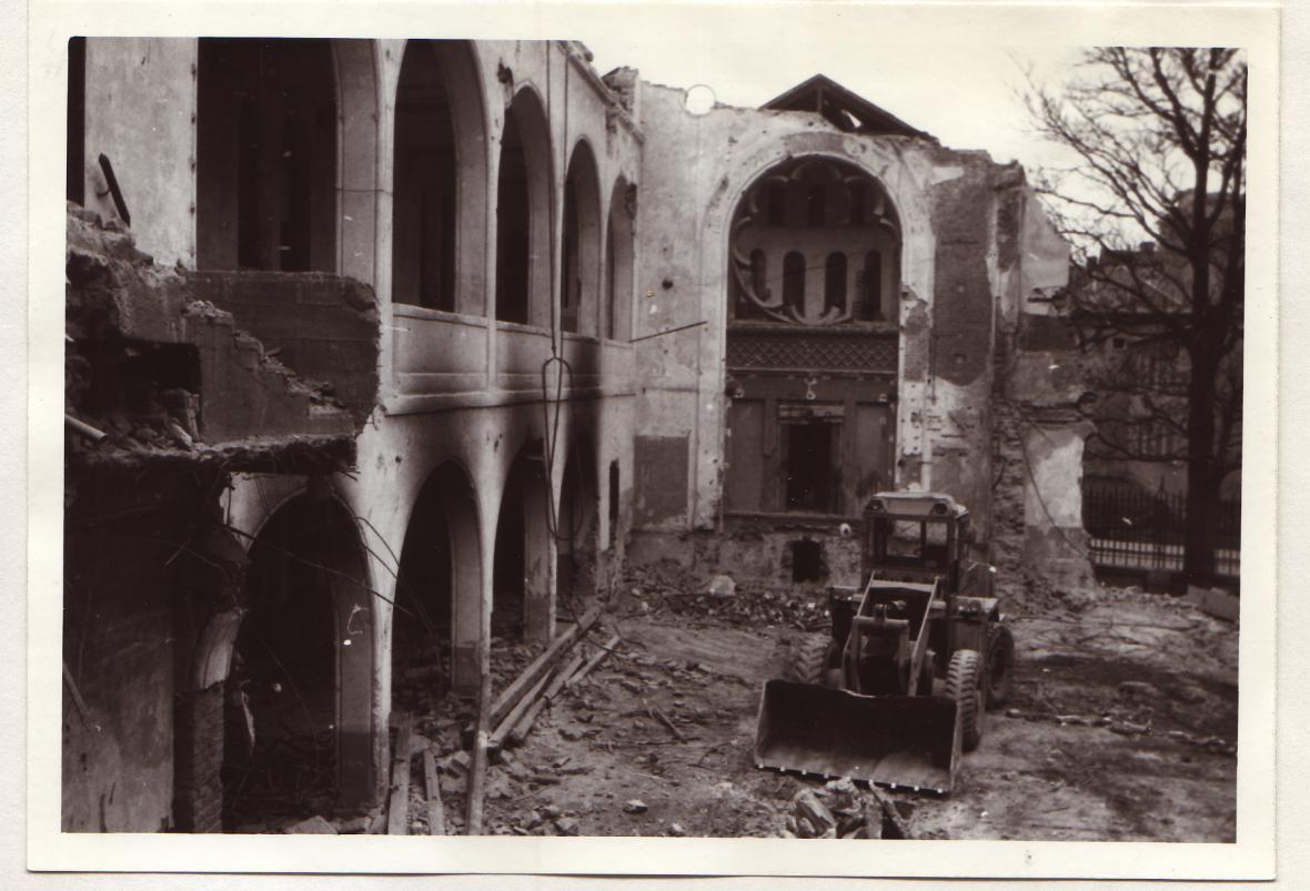 Brno, Nová synagoga, zbořena 1986