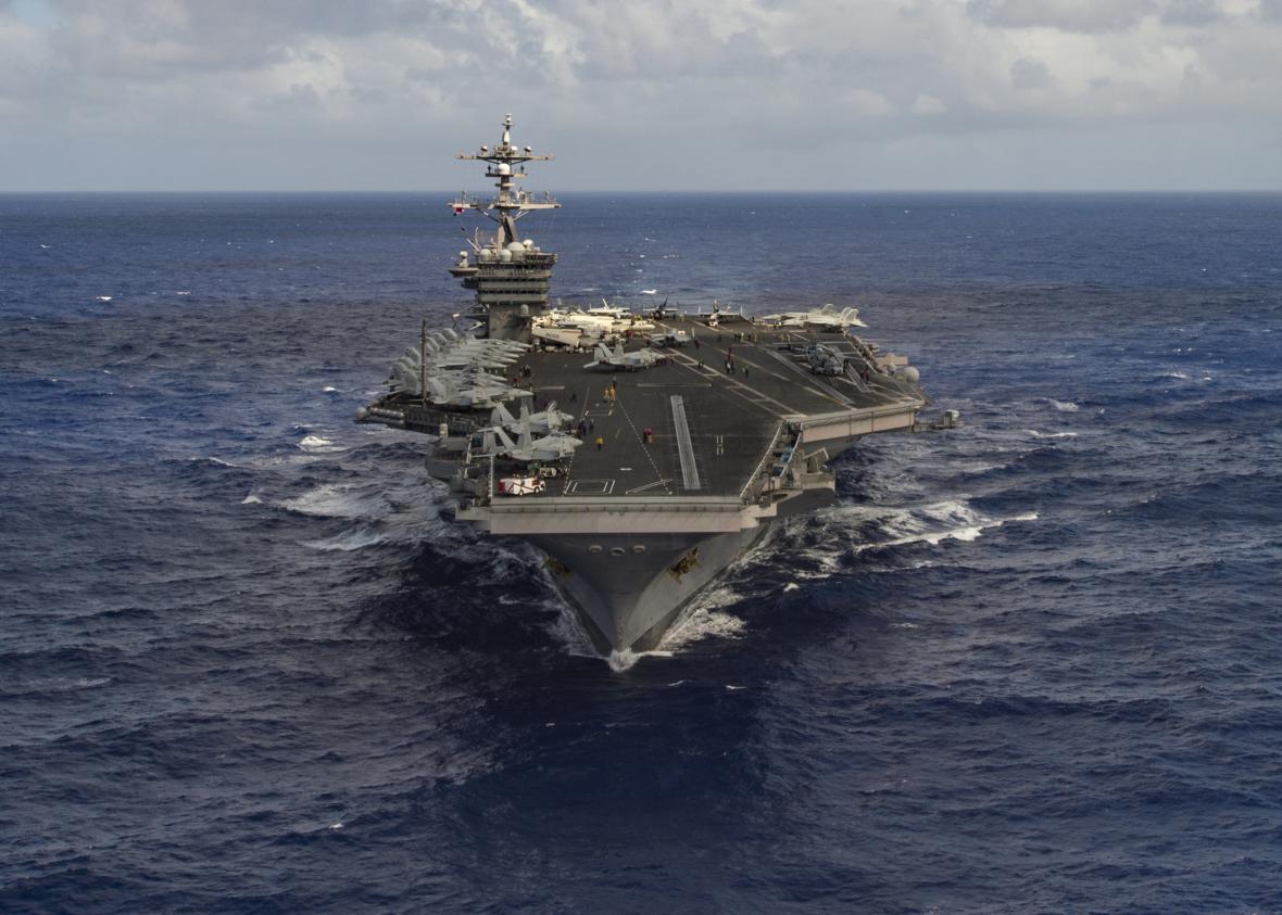 Letadlová loď amerického námořnictva Carl Vinson
