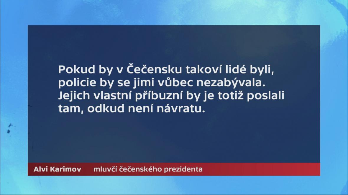 Alvi Karimov, mluvčí čečenského prezidenta