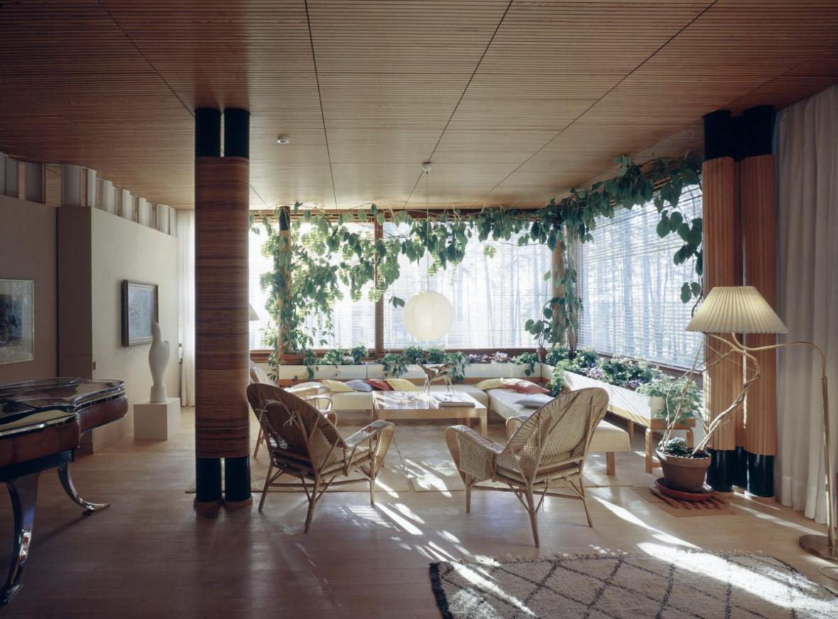 Interiér od finského architekta Alvara Aalta
