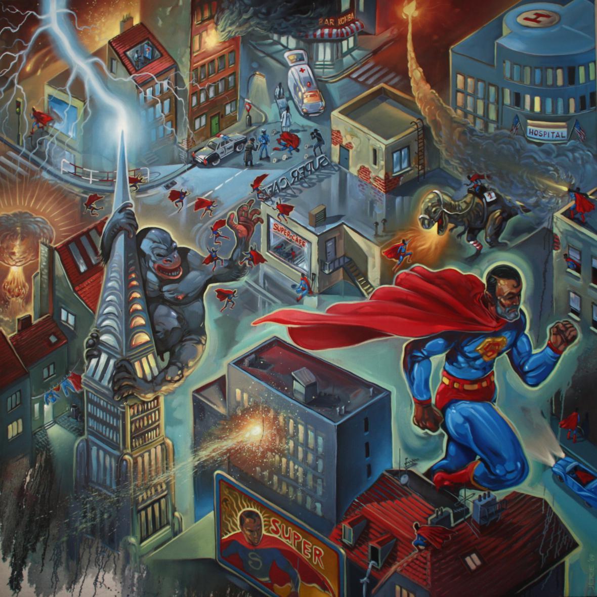 Karel Jerie / Super City, 2009