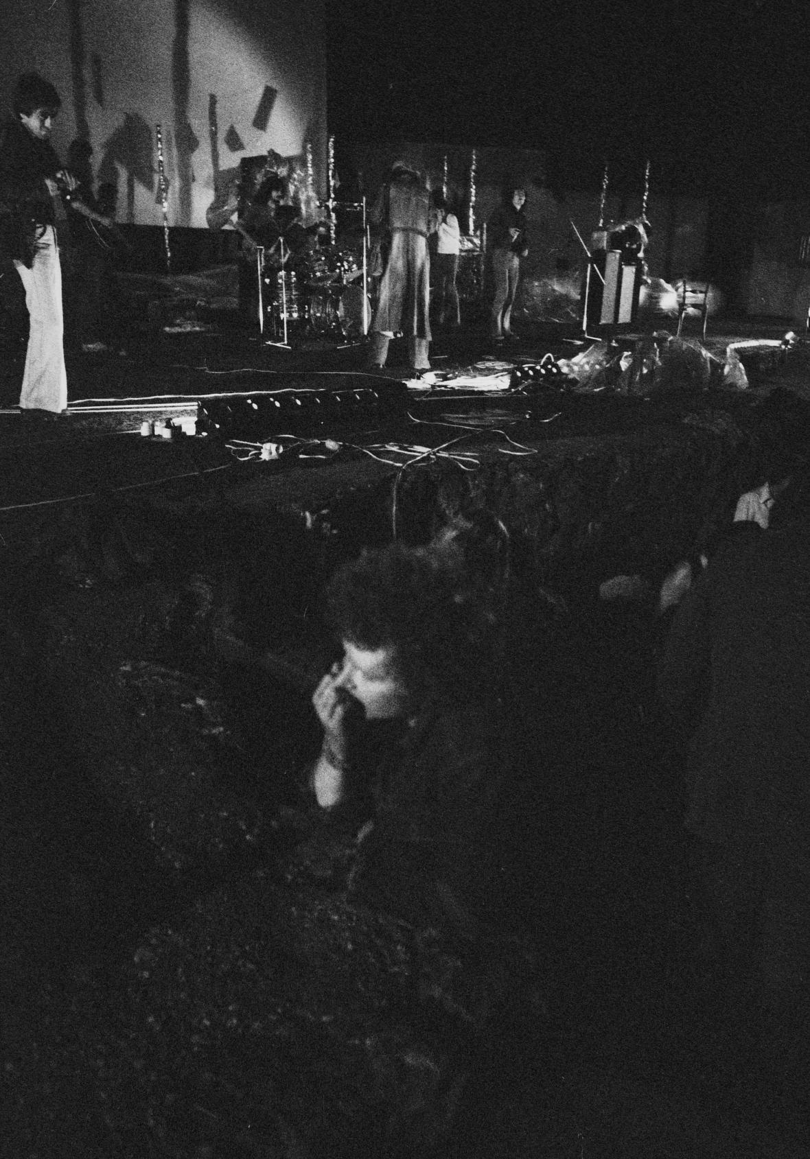 Diváci večer na festivalu (Pezinok 1976)