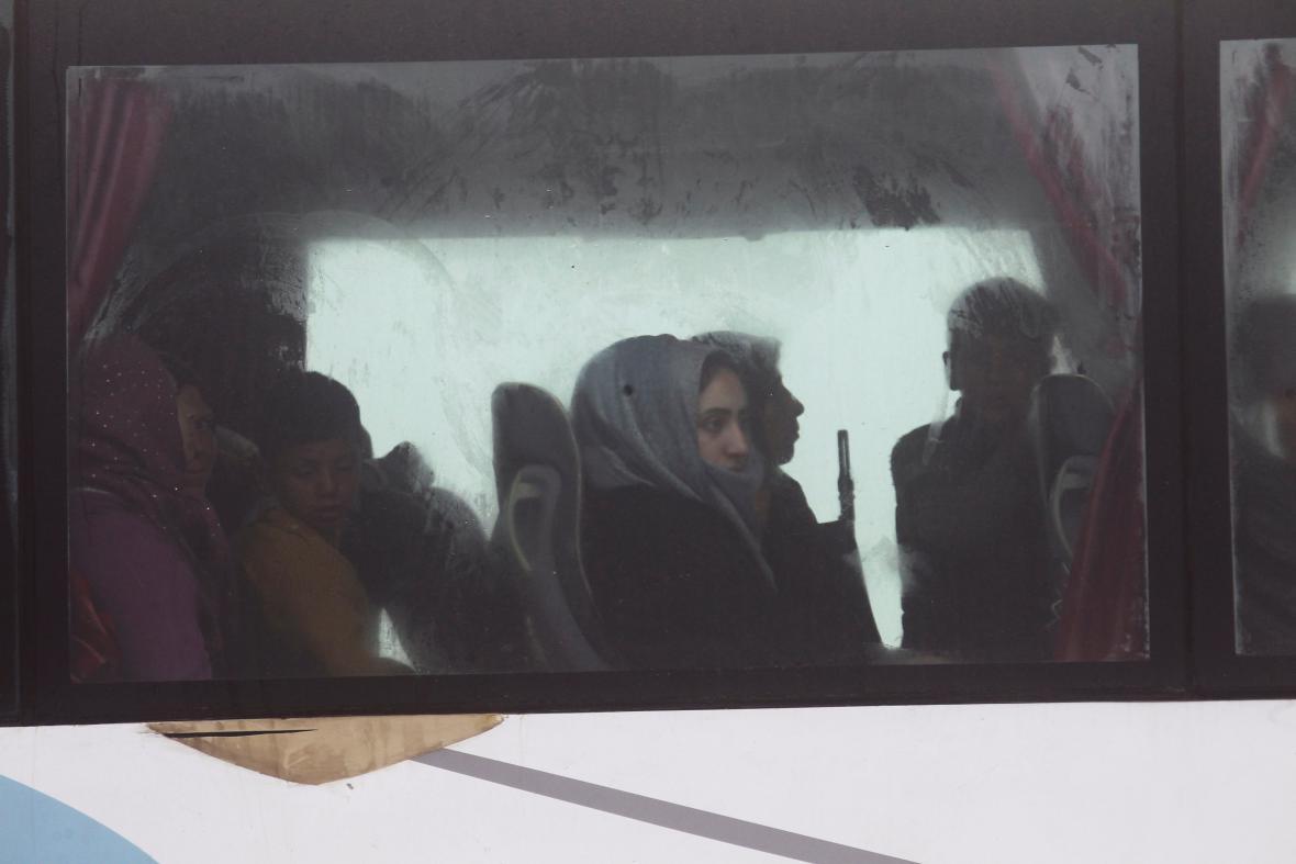 Evakuace civilistů