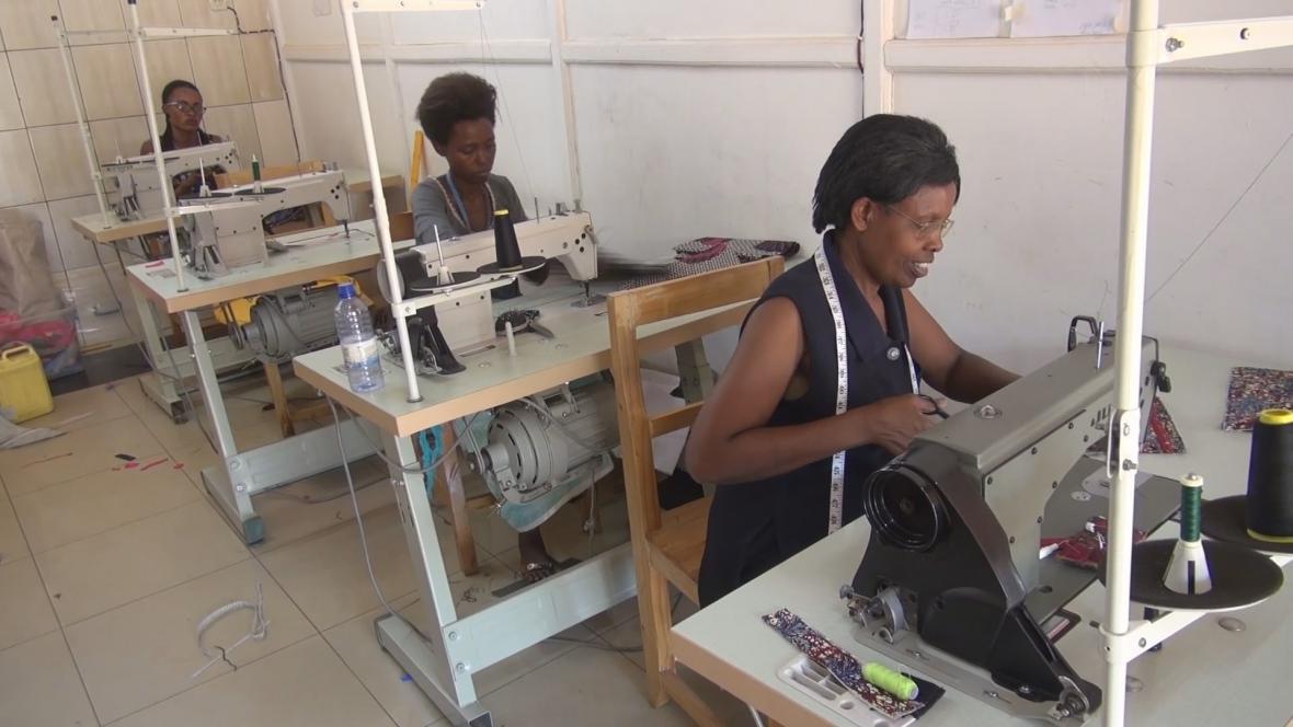 Rwandské ženy